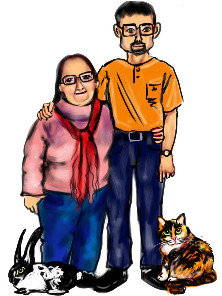 ---Aaron & Lorna---