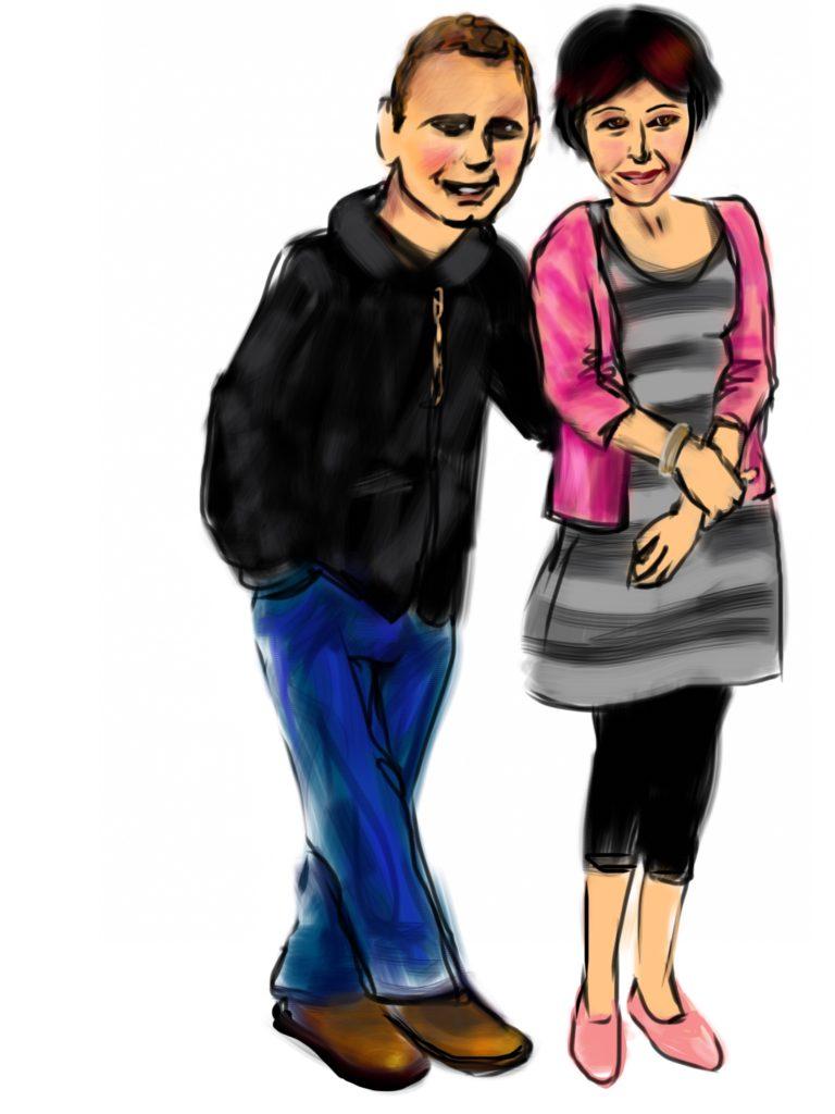 ---Andrea & Dennis---
