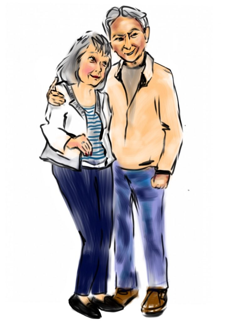 ---Barbara & Joe---