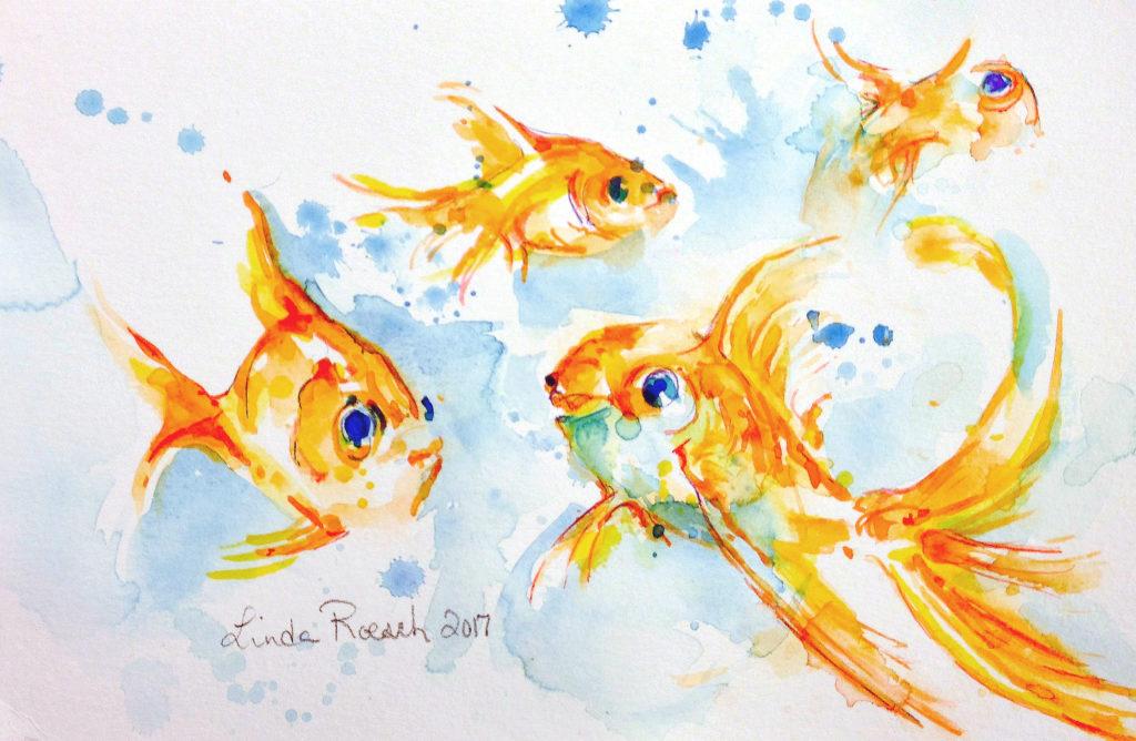 Day 3 - Goldfishies